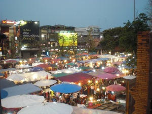 Chiang Mai's walking street